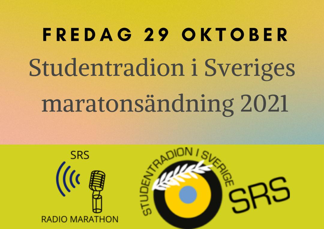 Nu är tablån för årets Radiomaraton här!
